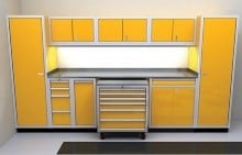 High End Garage and Shop Storage Cabinets