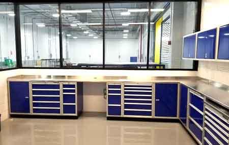 Moduline Cabinets in DOT Garage