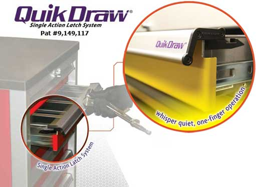QuikDraw™ on Moduline Cabinets