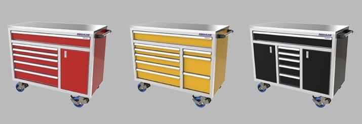 Moduline Aluminum Mobile Tool Boxes