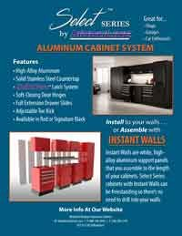 Moduline Select™ Aluminum Cabinet Systems