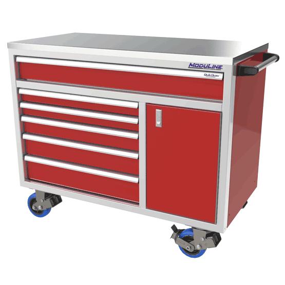 ProII™ SERIES Aluminum Mobile Tool Box With 1 Door