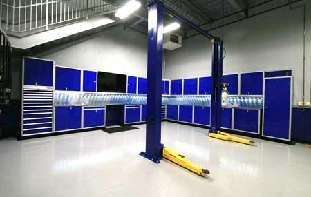 Etonnant Custom Garage U0026 Shop Aluminum Cabinet Systems