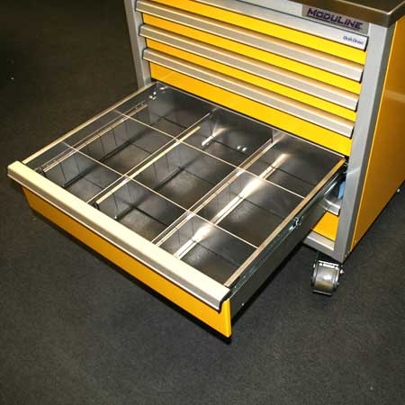 Drawer Dividers for Aluminum Tool Box