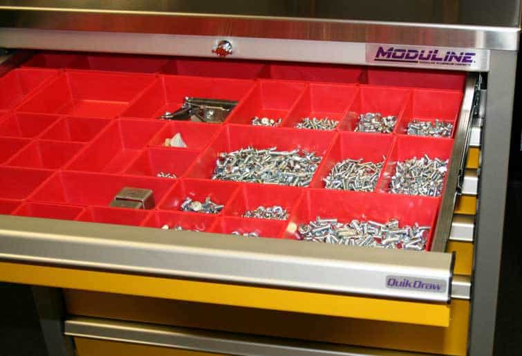Plastic Drawer Bins for Moduline Tool Boxes