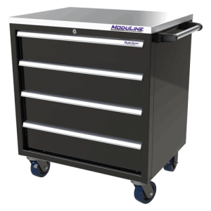 QuikDraw® 32″ Aluminum Tool Box With 4 Drawers
