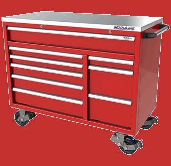 Red Moduline QuikDraw Tool Box