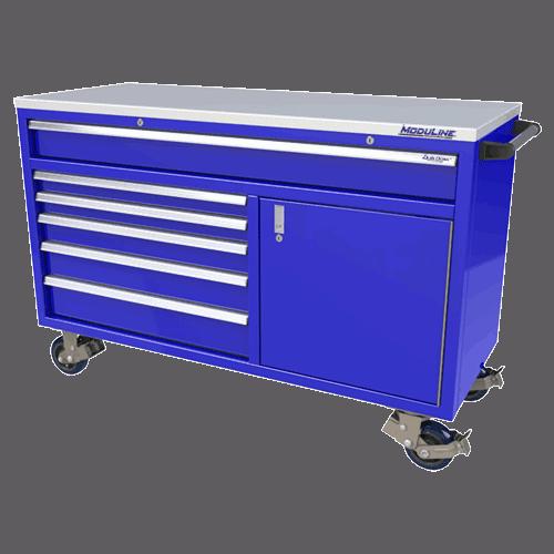Moduline Blue QuikDraw® Aluminum Tool Box