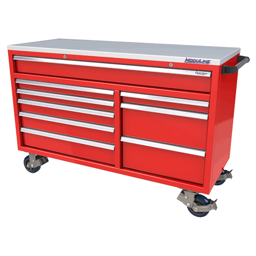 Red QuikDraw® Aluminum Tool Box