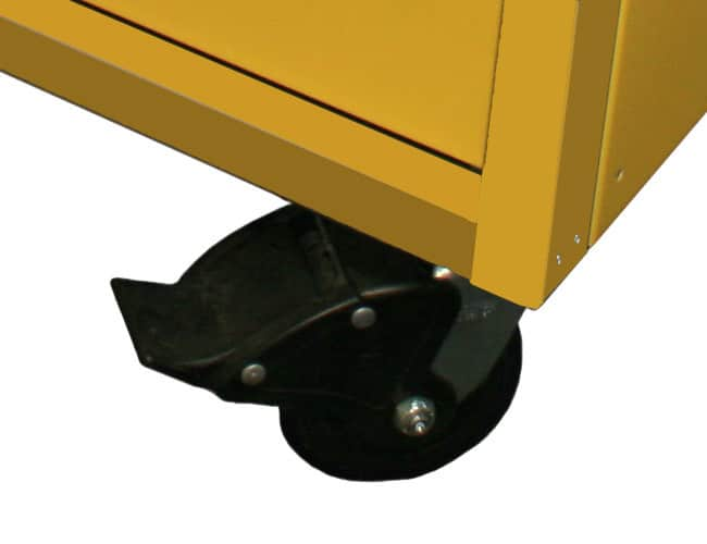 "5"" Double Locking Casters Included With 32"" Wide QuikDraw® Tool Boxes"