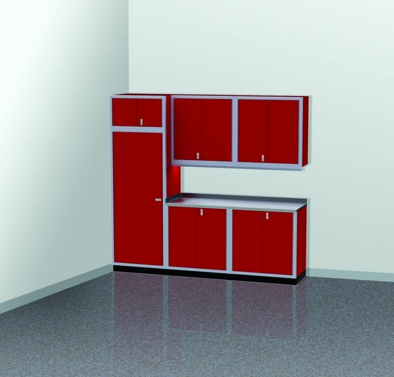 Easy Garage Cabinets Plans: Make Garage Organization Easy With A Custom Cabinet Layout