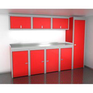 SportsmanII Aluminum Trailer And Vehicle Cabinet Combination 120″ Wide #SPTC010-020