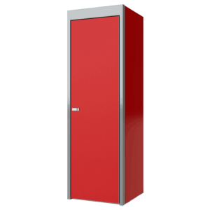 SportsmanII Aluminum Closet Cabinet 75″H X 24″D X 24″W, With Adjustable Shelf And Closet Pole