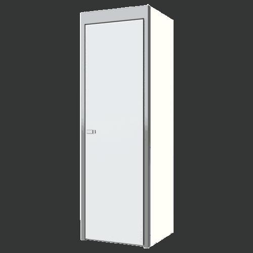 """White Sportsman II™ Aluminum Closet Cabinet 75""""H X 24""""D X 24""""W"""