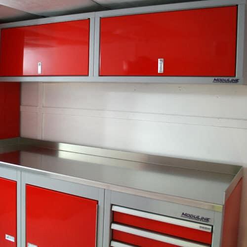 Sportsman II™ Aluminum Countertop WIth Cabinets