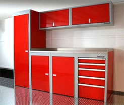 Red Sportsman II™ Trailer Cabinets