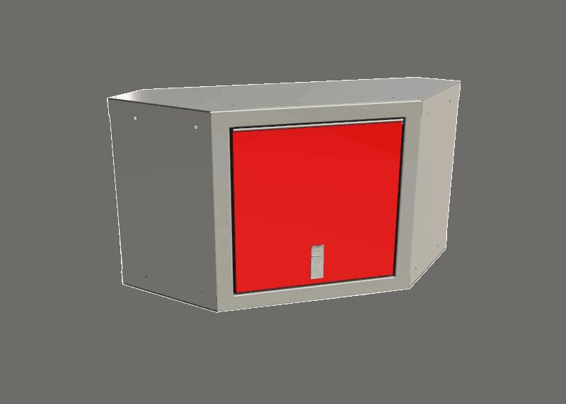 Red Sportsman II™ Overhead Corner Cabinet