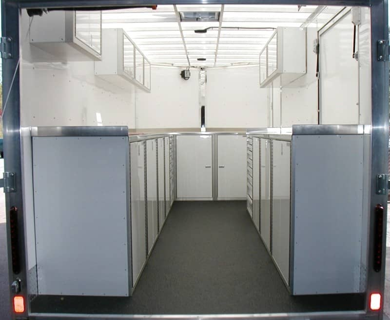 PROII™ SERIES V-Nose Trailer Cabinet Combination Design