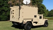 Moduline Modular Cabinet Military Application