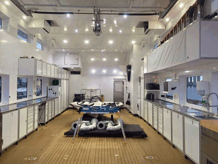 Moduline PROII™ Cabinets on a Yacht