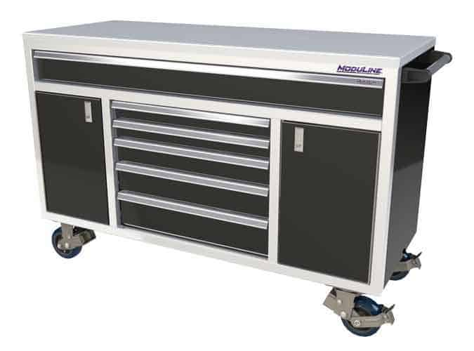 Moduline Cabinets Aluminum Mobile Tool Box Garage Shop