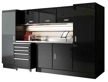 Moduline Cabinets Garage & Shop Layout Combinations