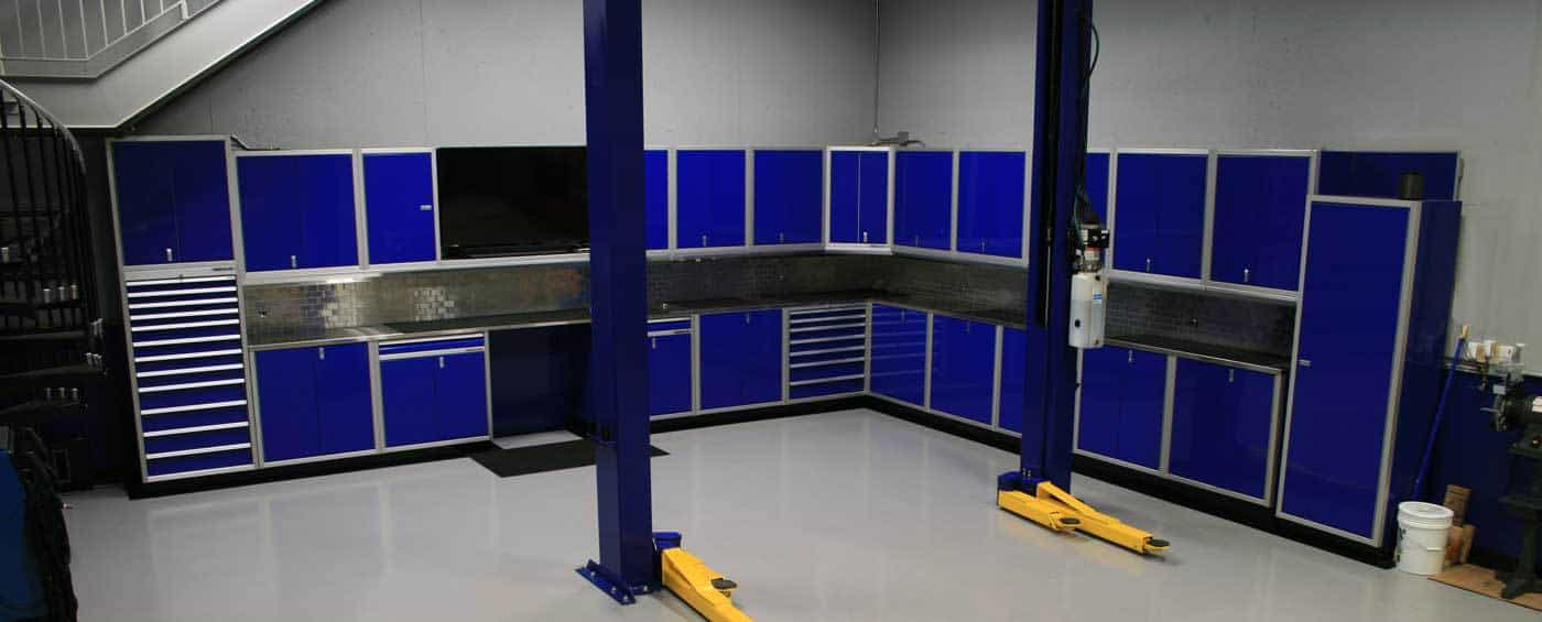 Moduline Aluminum Cabinet Systems