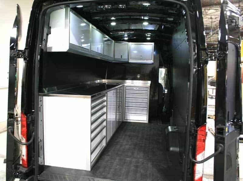 Ford Transit Van Mobile Cabinet System