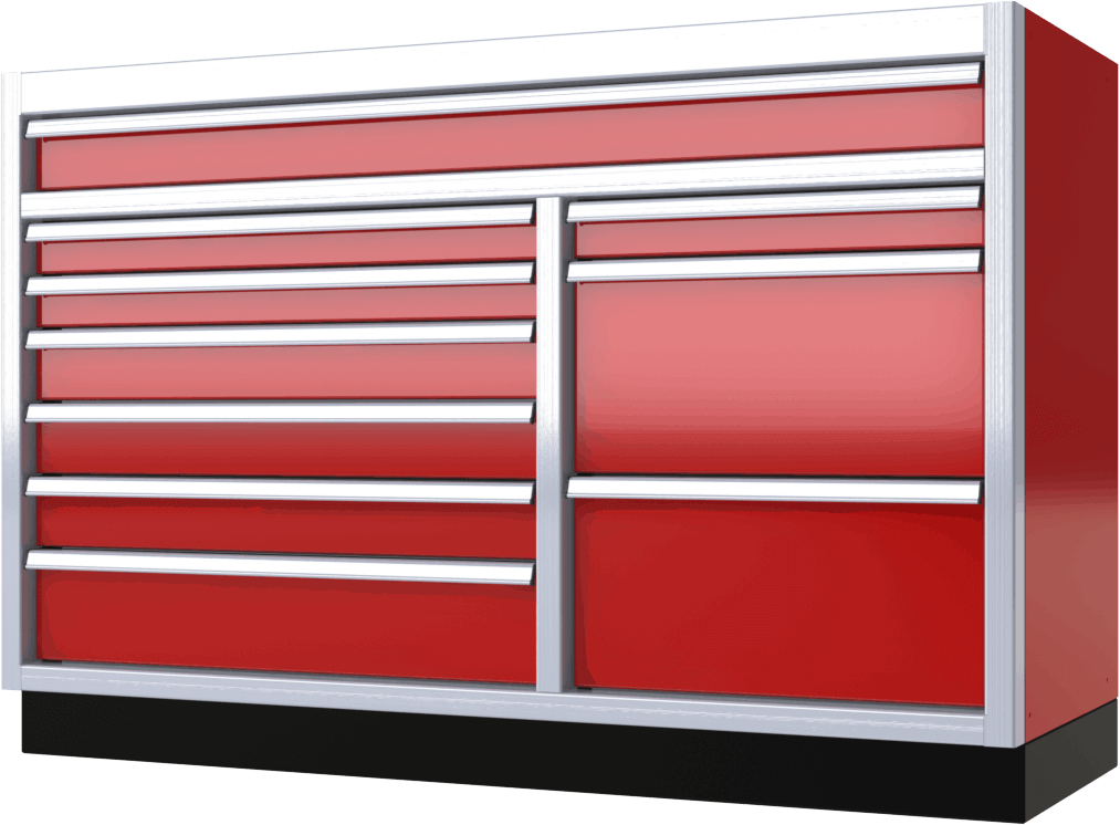 Moduline Pro Ii Series High Quality Aluminum Cabinets