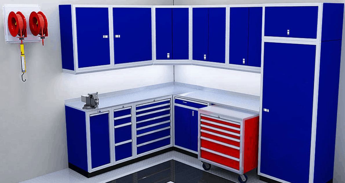 Moduline Cabinets Lightweight Aluminum Mobile Toolboxes