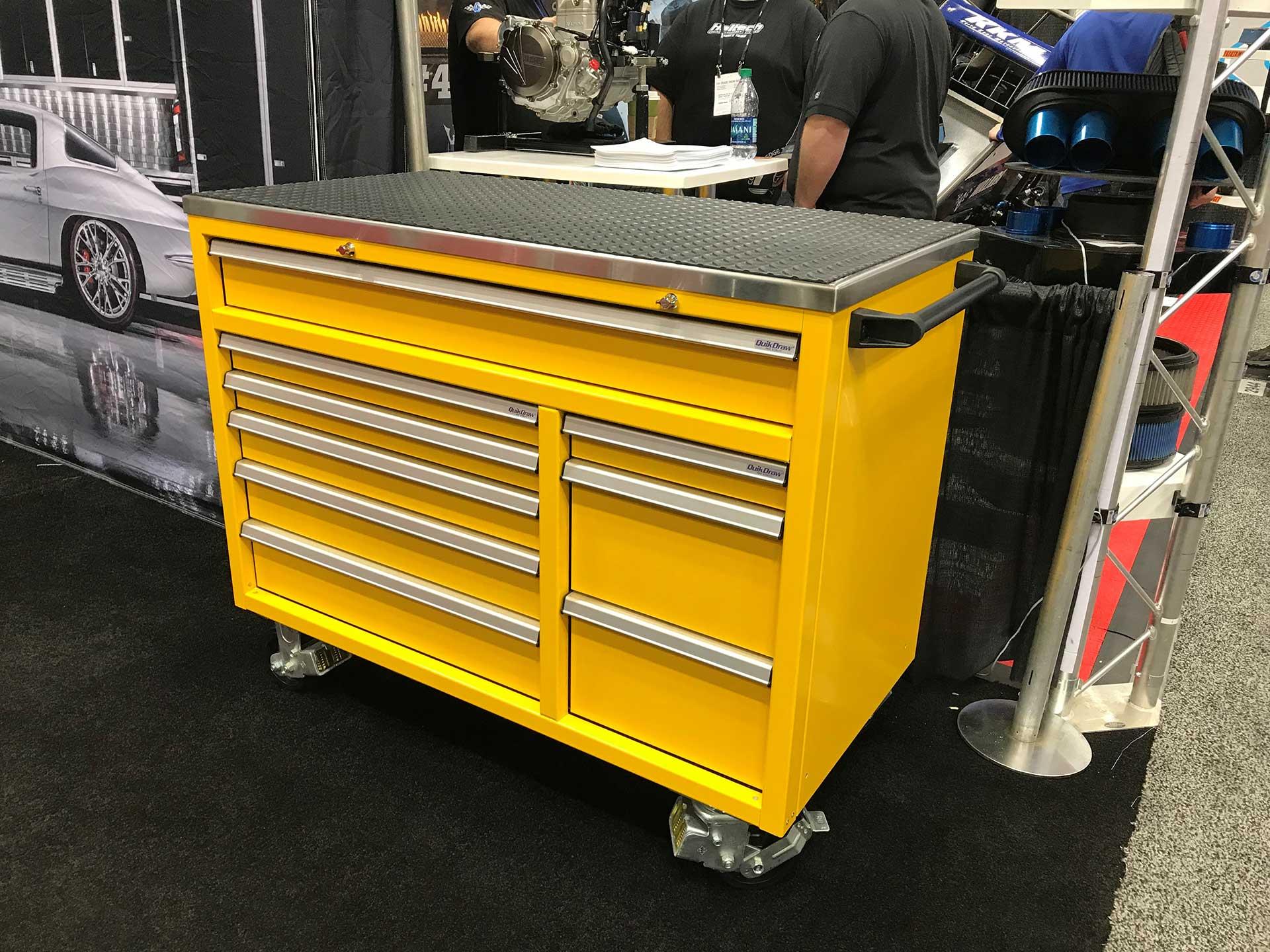QuikDraw® Aluminum Best Tool Box on Wheels