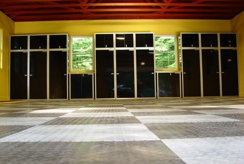 Dream Garage Organization and Layout Aluminum Cabinets