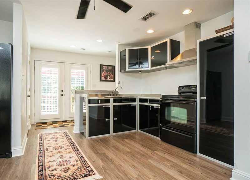 Custom Kitchen Aluminum Metal Cabinetry Military-Grade