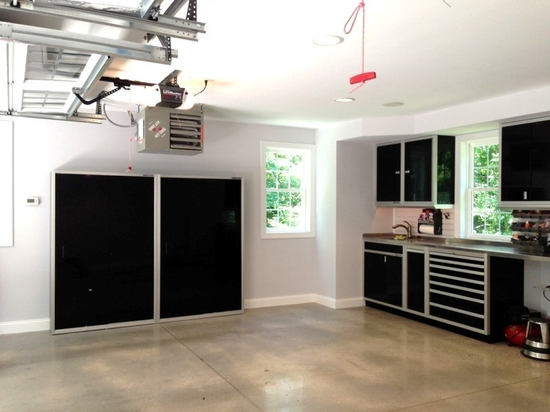 Garage Makeover Idea Custom Storage & Organization Cabinets