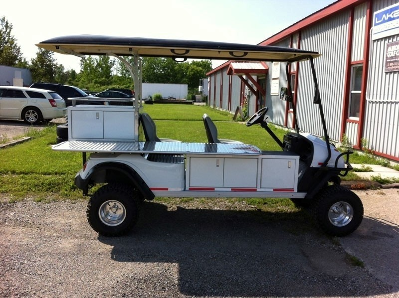 Golf Cart Custom Cabinet Storage Design