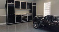 Serge garage cabinets