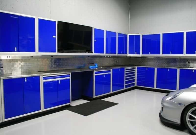 Moduline Blue Base Military-Grade Aluminum Base Cabinets