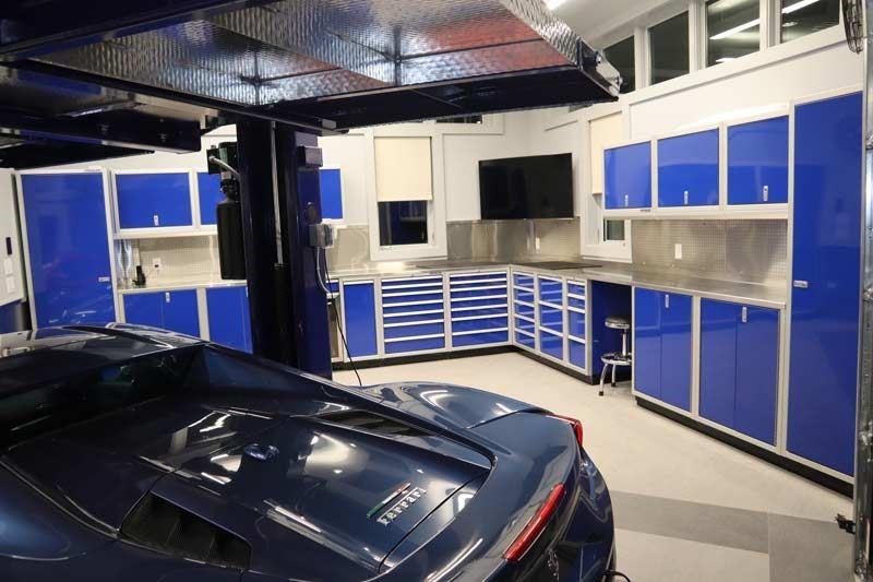 Military-Grade Aluminum Premium Garage Cabinets