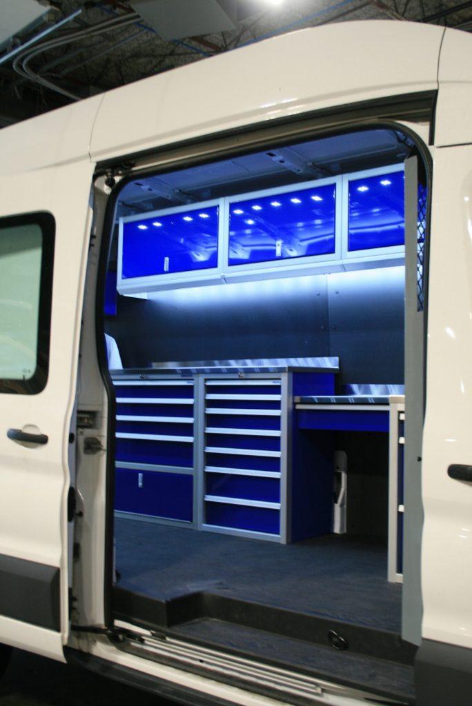 Van Upfit Custom Organization for Cargo Vans