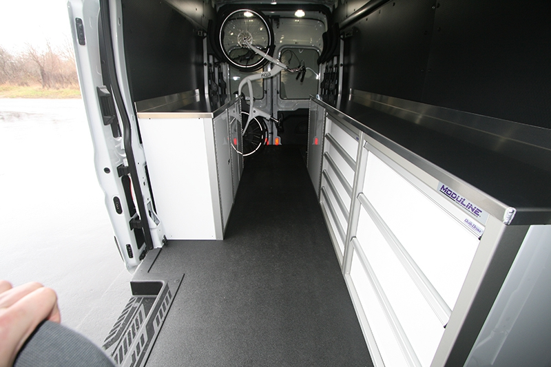 Work Van Upfits to Organize Tools and Storage