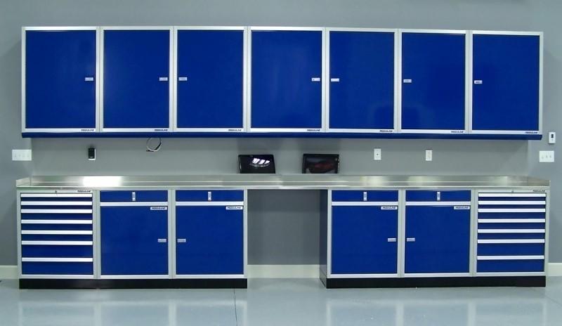 Dream Garage Aluminum Cabinet Storage Systems