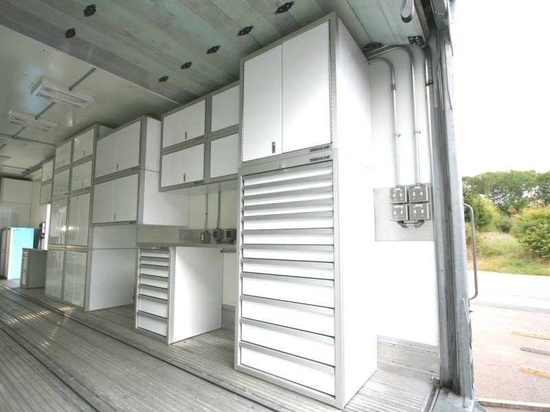 Military-Grade Aluminum Cabinets GSA Approved