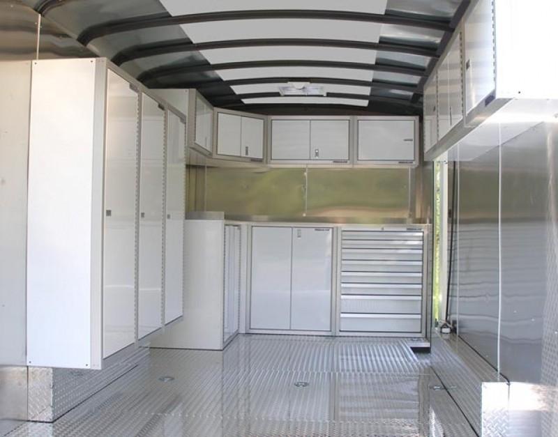 Race Enclosed Trailer Cabinets Modular Storage