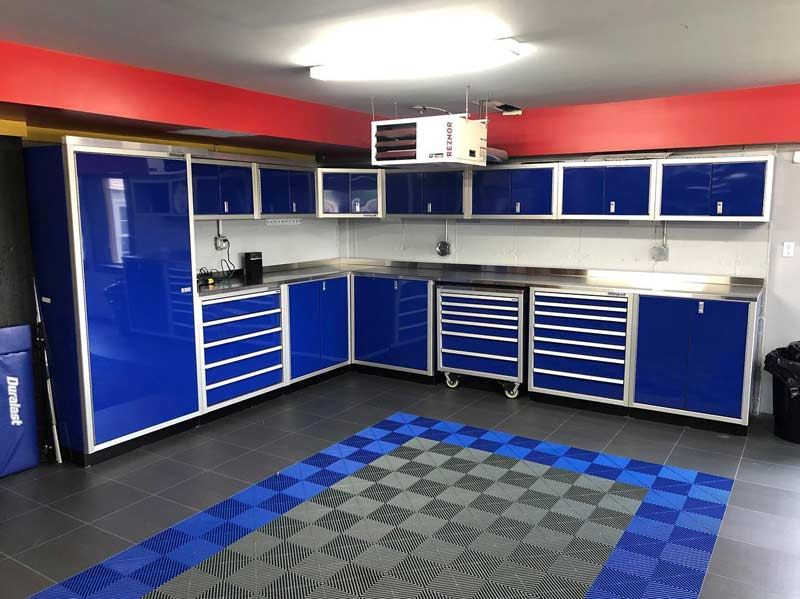 Why Choose Aluminum Garage Cabinets Compared To Other Materials