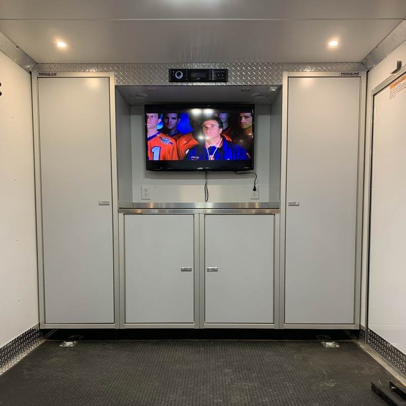 Racing Cabinets for Race Hauler & Enclosed Trailer