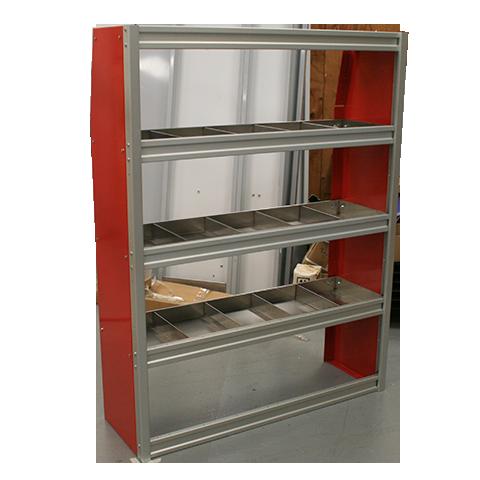48 Wide Upfit Shelf Unit