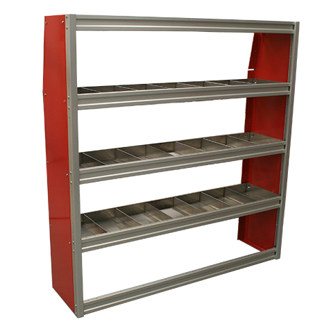 60 Wide Upfit Shelf Unit