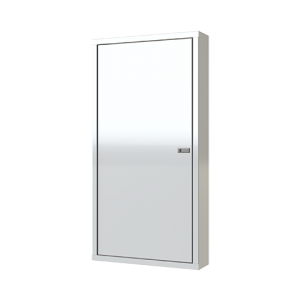 All-White Wheel Well Cabinet